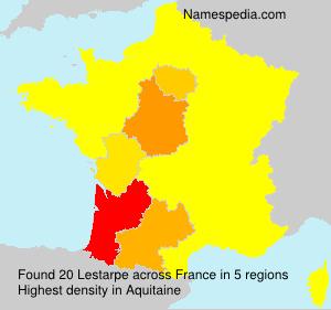Surname Lestarpe in France