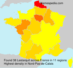 Surname Lestarquit in France