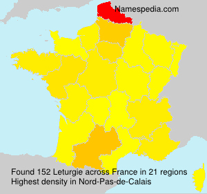 Surname Leturgie in France