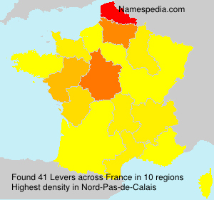 Surname Levers in France