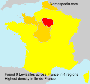 Surname Levisalles in France