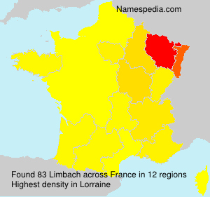 Surname Limbach in France