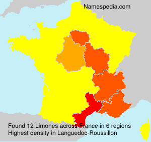 Surname Limones in France