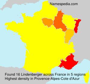 Surname Lindenberger in France