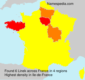 Surname Linek in France