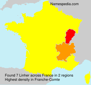 Surname Linher in France
