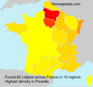 Surname Lobjoie in France