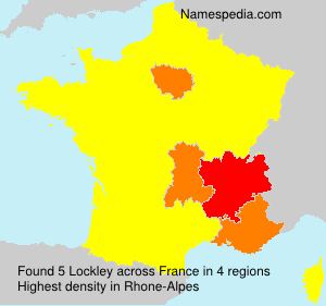 Surname Lockley in France