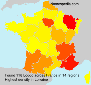Surname Loddo in France