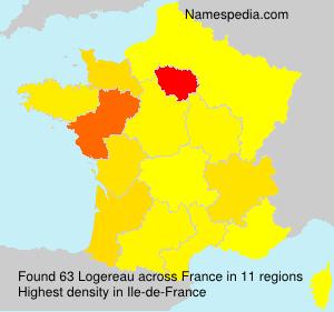 Surname Logereau in France