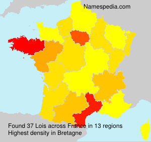 Surname Lois in France