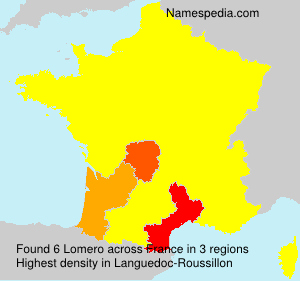 Surname Lomero in France