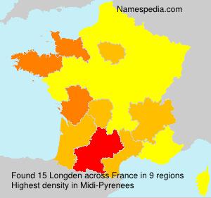 Surname Longden in France