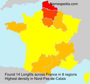 Surname Longfils in France