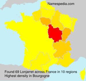Surname Lonjarret in France