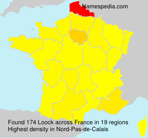 Surname Loock in France
