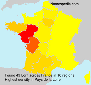 Surname Lorit in France