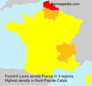 Surname Loure in France