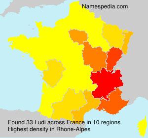Surname Ludi in France