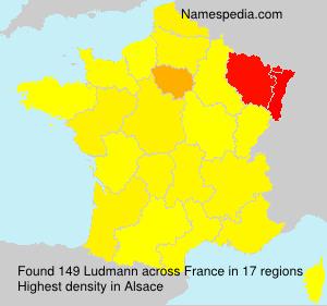 Familiennamen Ludmann - France