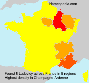 Surname Ludovicy in France
