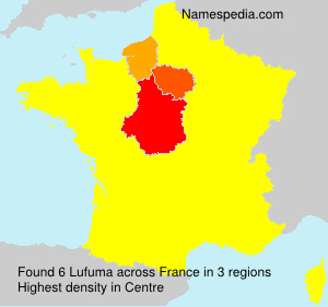Surname Lufuma in France