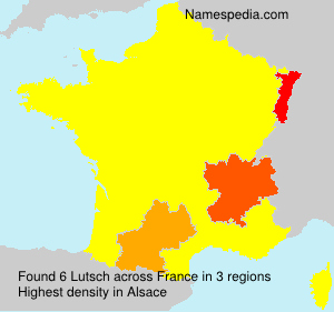 Surname Lutsch in France