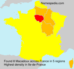 Surname Macadoux in France