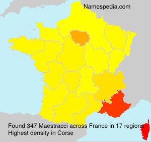 Familiennamen Maestracci - France