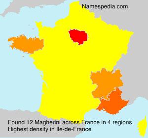 Surname Magherini in France