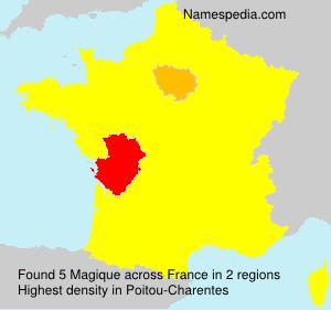Familiennamen Magique - France