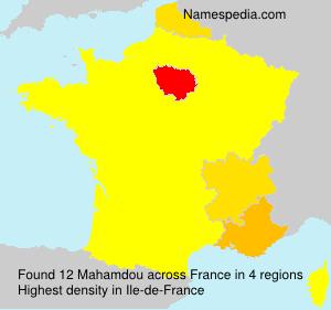 Surname Mahamdou in France
