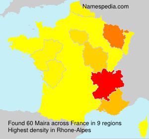 Surname Maira in France