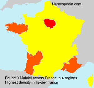 Surname Malalel in France