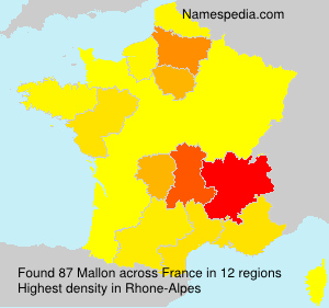 Surname Mallon in France