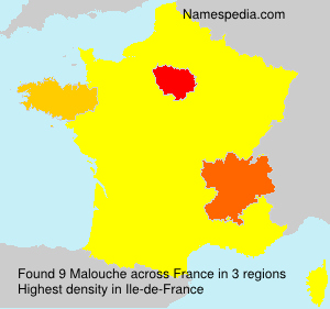 Surname Malouche in France