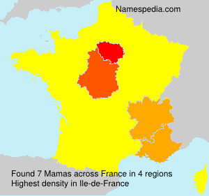 Surname Mamas in France