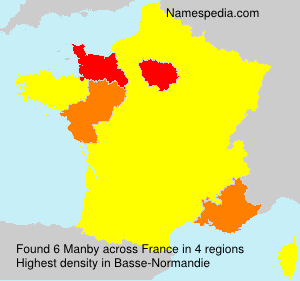 Surname Manby in France