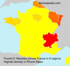 Surname Mandala in France