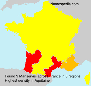 Surname Manservisi in France