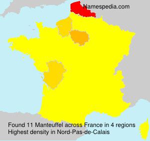 Familiennamen Manteuffel - France