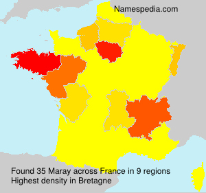 Surname Maray in France