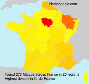 Familiennamen Marcus - France
