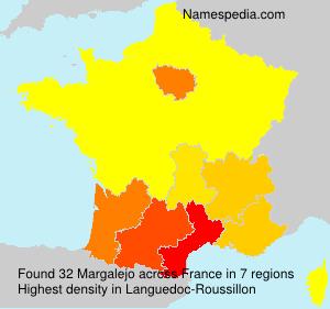 Surname Margalejo in France