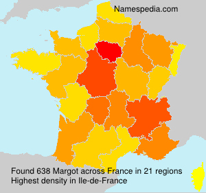 Surname Margot in France