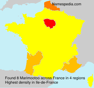 Surname Marimootoo in France