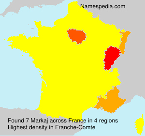 Surname Markaj in France