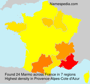 Surname Marmo in France
