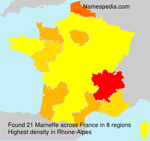 Surname Marneffe in France