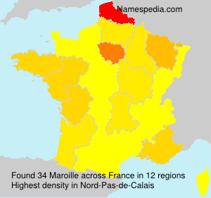 Surname Maroille in France